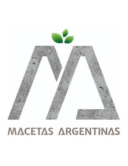 860441-MLA45727908642_042021,Macetas Fibrocemento Prisma Bajo 40x40x10 Oferta! 3 Unidades